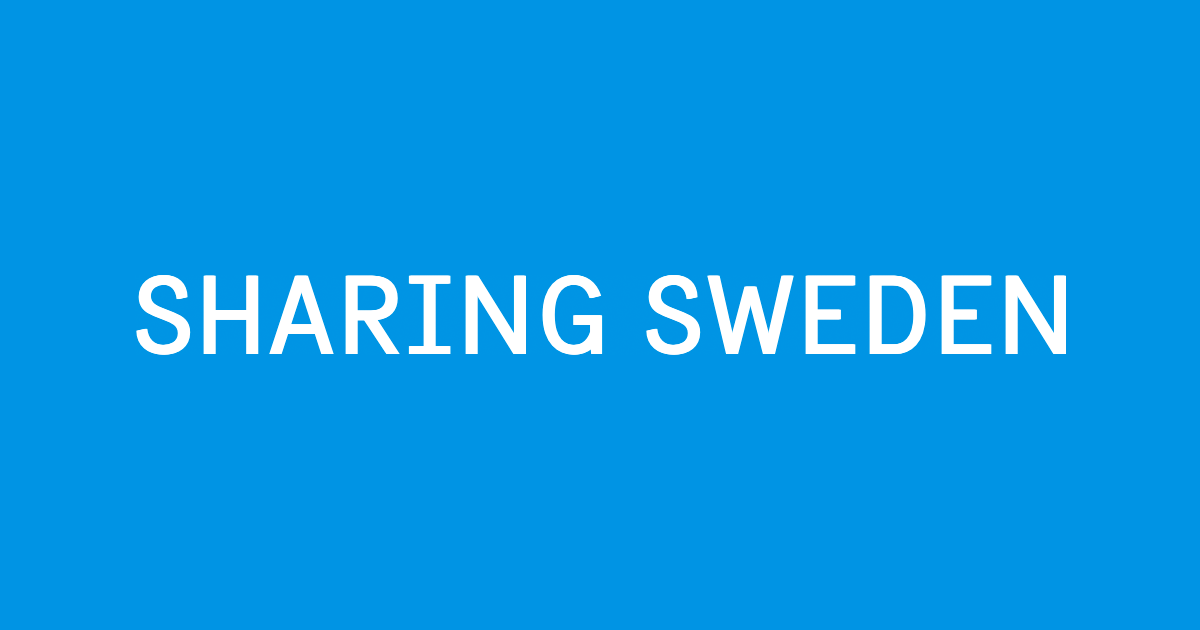 Toolkits   Sharing Sweden
