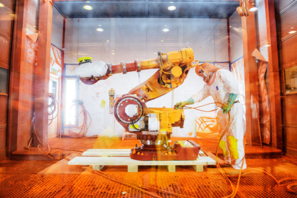 Robotdalen, Robot Valley, based in Västerås is a natural hub for Swedish robotics. ABB, one of the companies there, is one of the world's leading suppliers of industrial robots, aiming to improve productivity, product quality and worker safety.