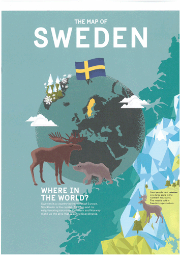 Sweden – folder for school children | Sharing Sweden