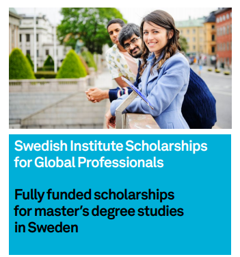 Image result for Swedish Institute Scholarships for Global Professionals (SISGP)