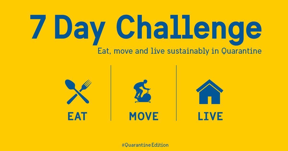 7 Day Challenge Quarantine Edition Sharing Sweden